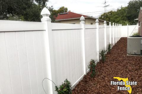 Vinyl Fence Tampa Florida