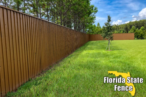 Wood Privacy Fence Tampa