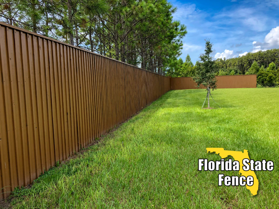 Wood Fence Contractor in Tampa, FL | Florida State Fence