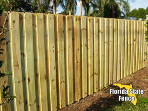 Wood Fence Tampa Florida