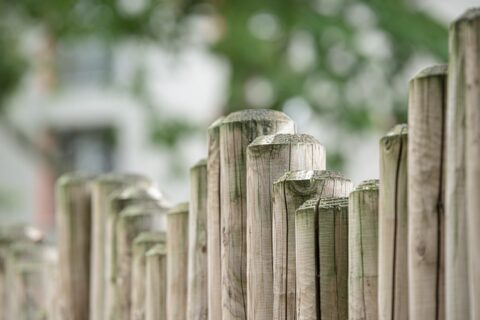 types of wood fences